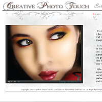 Creative Photo Touch Website