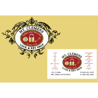 Mt. Clemens Lock & Key Logo and Business Cards