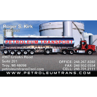Petroleum Transport Business Cards